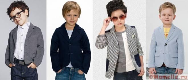 пипиджаки для мальчиков фото