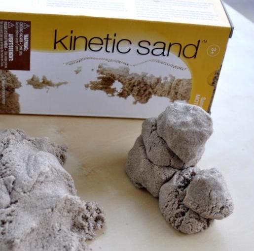 кинетический песок свойства