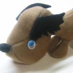 Мягкая игрушка Щенок своими руками (мастер-класс)