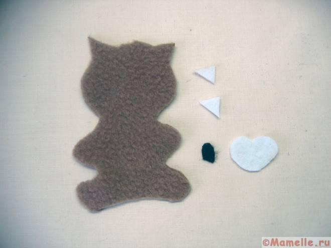 выкройка кошки для сказки репка