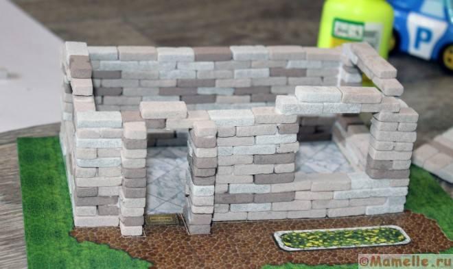 строительный набор для архитектурного моделирования