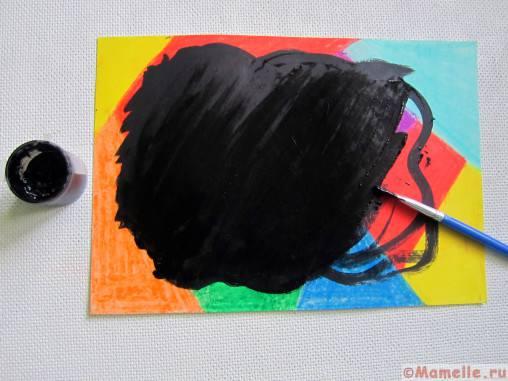 цветная гравюра своими руками