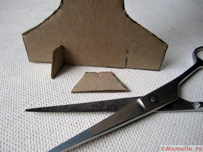 подставка из картона