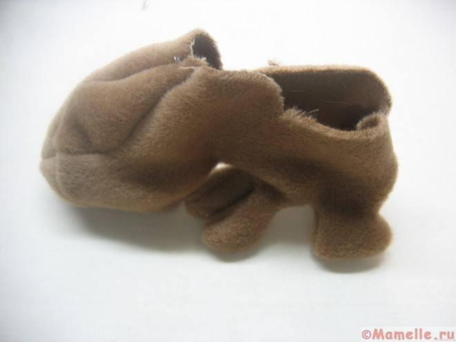сшить мягконабивную игрушку щенок