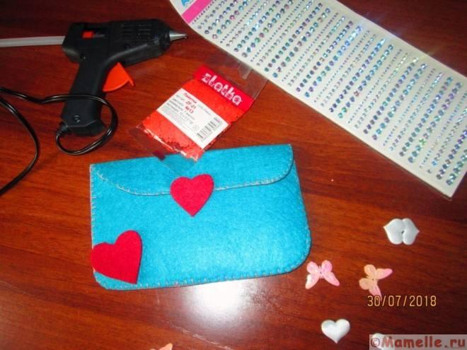 кошелек с сердечком фото