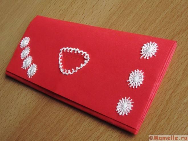красивый кошелек из бумаги фото
