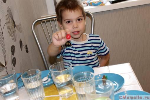 вода и соль эксперименты для детей