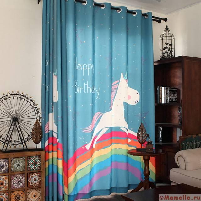 New-cartoon-children-curtains-lovely-rainbow-horse-print-kids-bedroom-curtain-girl-boy-room-blackout-cloth.jpg_640x640