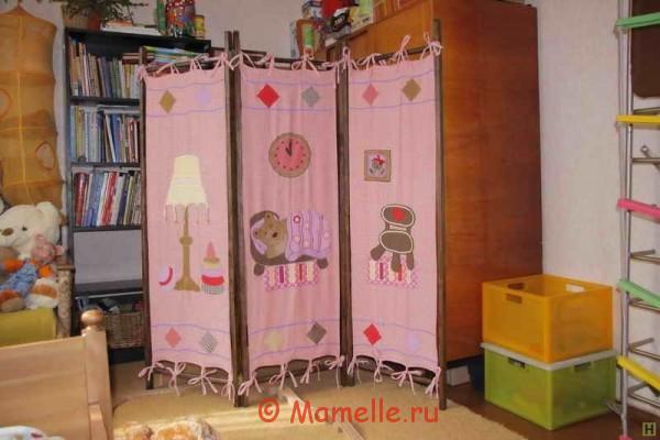 ширма в детской комнате фото
