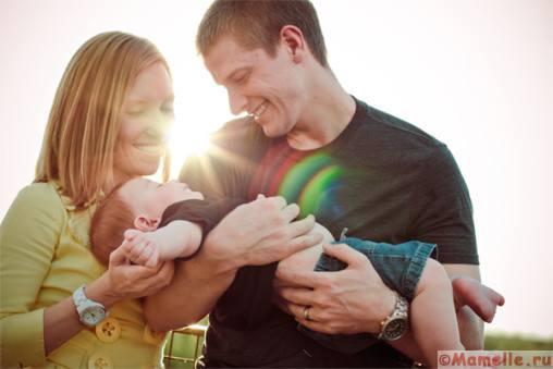 ребенок и родители фото