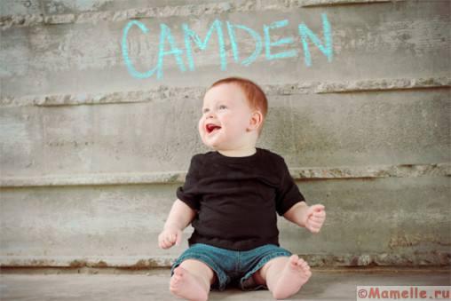 фото ребенка с буквами имени