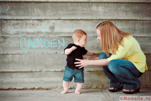 малыш и мама фото