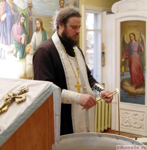 обряд крещения фото