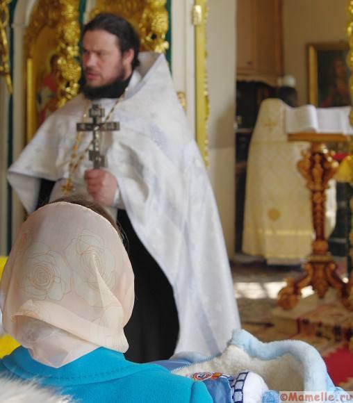 крещение мальчика фото