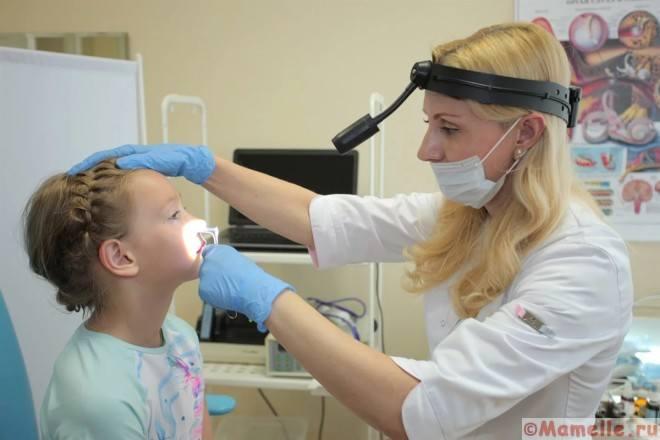 профилактика аденоидов у детей