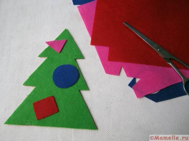 шнуровка елка для детей